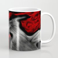 horror Mugs featuring Horror by Chlor