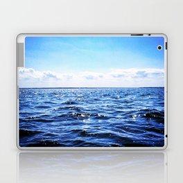 Deep Blue Seaside Laptop & iPad Skin