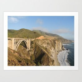 Bixby Creek Bridge Art Print