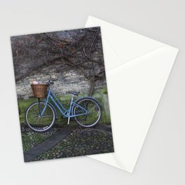 Bike Ride Through England Stationery Cards