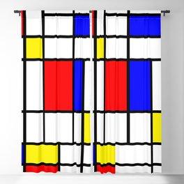 Mondrian #64 Blackout Curtain