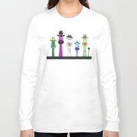 giraffes Long Sleeve T-shirts featuring Giraffes by Jozi