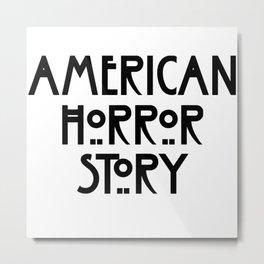american horror stor Metal Print