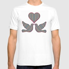 Windy Garden 2 Mens Fitted Tee SMALL White