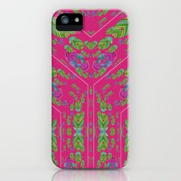 Infinities of Love in Abstract Pink iPhone Case