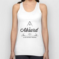 camus Tank Tops featuring The Absurd by Andrew Gony