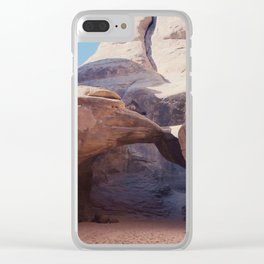 Sand Dune Arch Clear iPhone Case