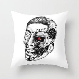 The all new Terminators. The genius. Throw Pillow