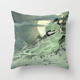 Anabelle Lee Throw Pillow