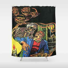 Horror in the Dark - the Pre-Code Collection Shower Curtain