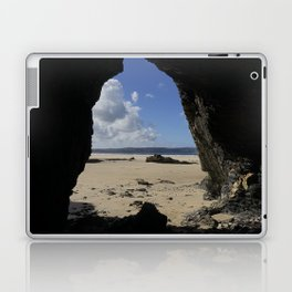 Cave at Gwithian Laptop & iPad Skin