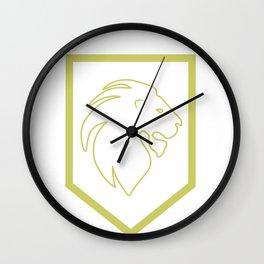 Phi Lambda Chi Lion Wall Clock