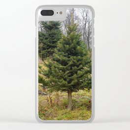 Little Tree Clear iPhone Case