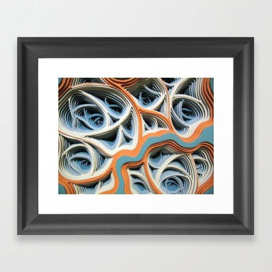 Necrotic Radimafungle Movement #2 (Detail) Framed Art Print