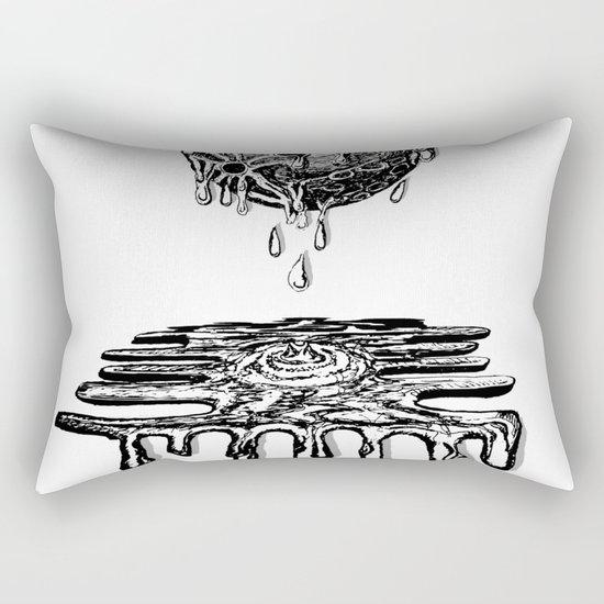 Moon Melt Rectangular Pillow