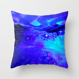 Blobs 6 Throw Pillow