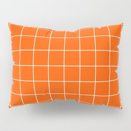 Flame Grid Pillow Sham