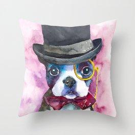 dog#25 Throw Pillow