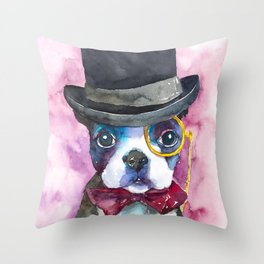 dog#25 Throw Pillow
