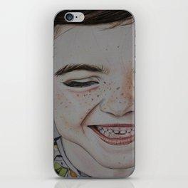 Pure innocence iPhone Skin