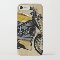 ducati iPhone & iPod Cases featuring Ducati Streetfighter 848, 2012 by Larsson Stevensem
