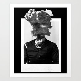 I, Explode. Art Print