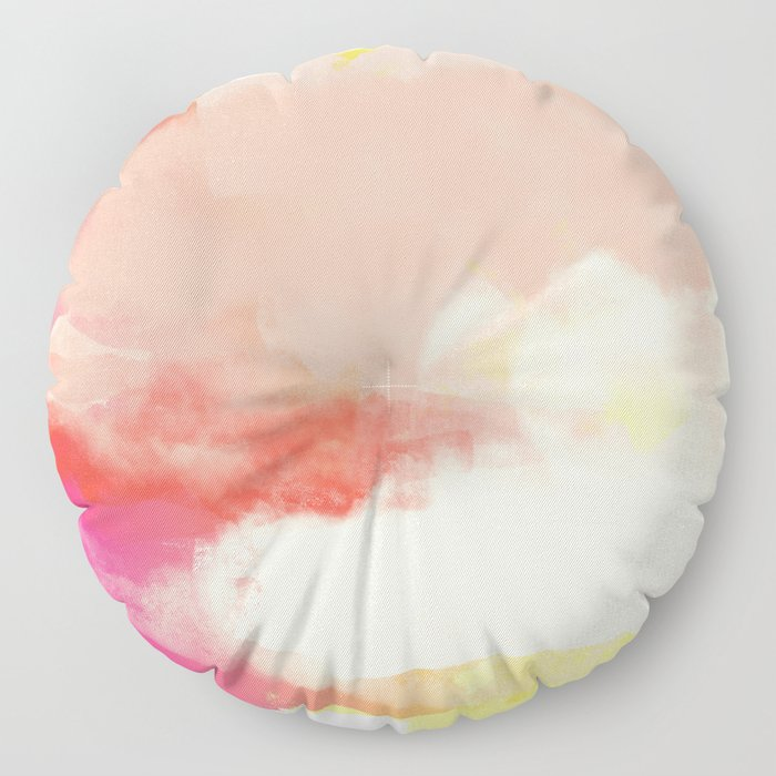 Particle of modernity Floor Pillow