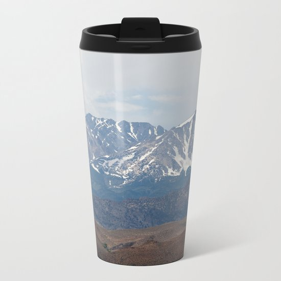 There In The Mountains (Sierra Nevadas, California) Metal Travel Mug