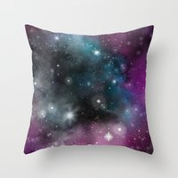infinity Throw Pillows featuring Infinity by ShaylahLeigh