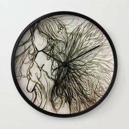 Faceless Angel Wall Clock