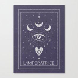 L'Imperatrice or L'Empress Canvas Print