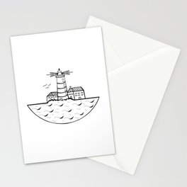 Summer and Sea Stationery Cards