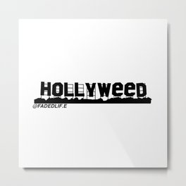 HOLLYWEED Metal Print