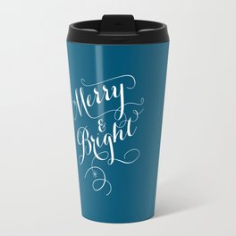 Merry & Bright Travel Mug