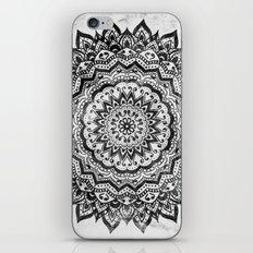 BLACK JEWEL MANDALA iPhone & iPod Skin