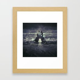 Hand Of Gaïa Framed Art Print