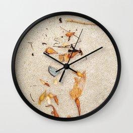 Sea Stuff Wall Clock