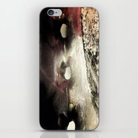 ghost in the shell iPhone & iPod Skins featuring Shell by SteeleCat