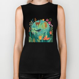 Once Destroyed Nature's Beauty Cannot Be Repurchased At Any Price Biker Tank