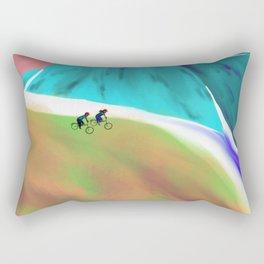 Paseo en bicicleta Rectangular Pillow