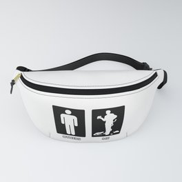 Others vs. Me (man) - reptile Fanny Pack