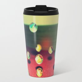 Retro Marbles Travel Mug