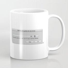 Work in progress bar #7 Coffee Mug