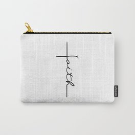 Faith Cross Carry-All Pouch