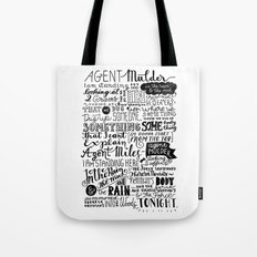 Into the woods tonight   Dana Scully Tote Bag