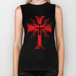 Blood of the Templars Biker Tank