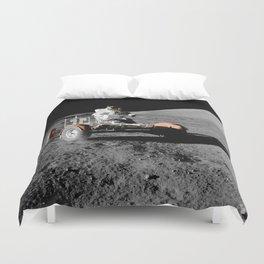 Apollo 17 - Moon Buggy Duvet Cover