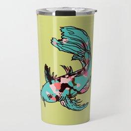 AriZona Butterfly Koi Travel Mug