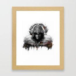 assassins creed ezio auditore Framed Art Print
