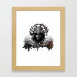 assassins creed ezio auditore Framed Art Print